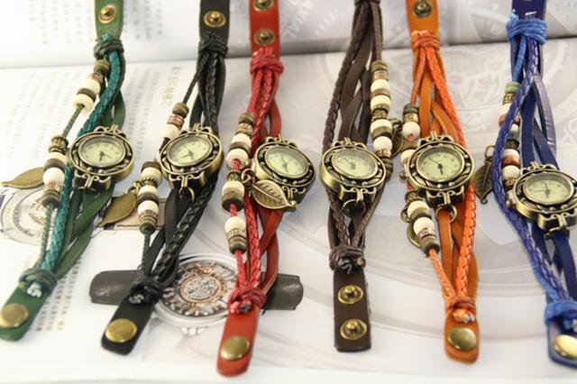 限時特價) 歐風手環錶