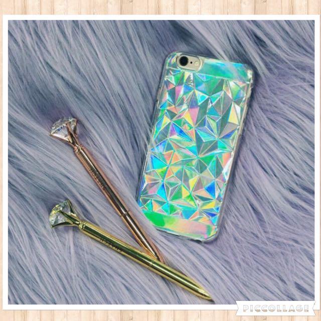 ✨新品✨ 鐳射光 鑽石 手機殼🇺🇸