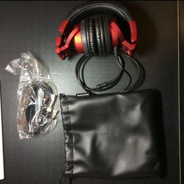 鐵三角 ATH-pro500MK2DJ耳機 audio-technica