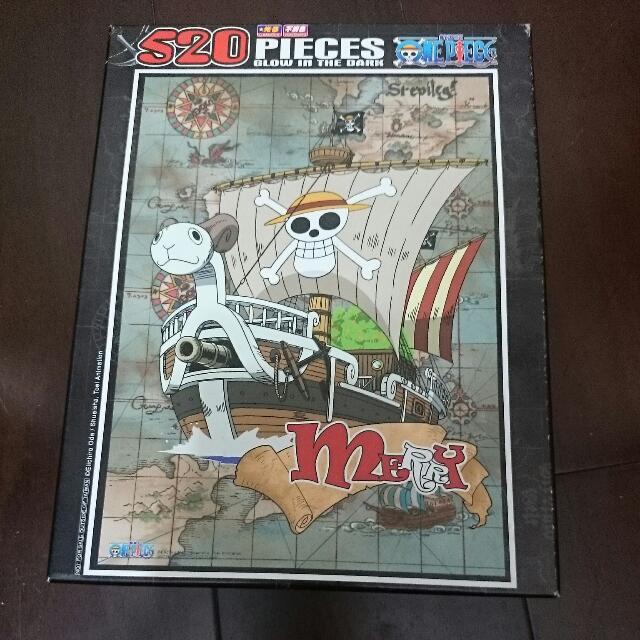 海賊王 Onepiece 梅莉號 520片 拼圖