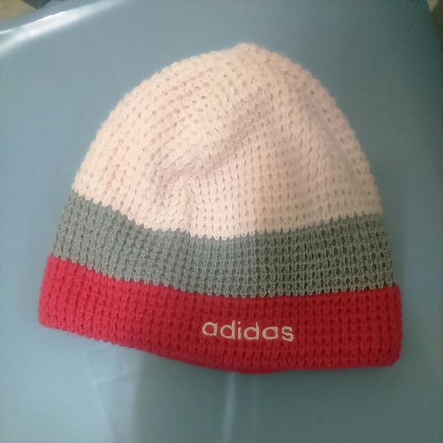 Adidas毛線帽
