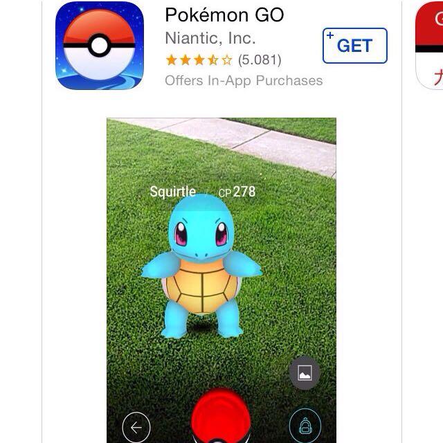 Aplikasi Pokemon Go!