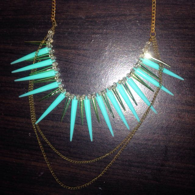 Aqua Fancy Necklace