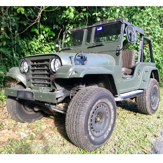 Asia Military Willys 4x4 Jeep (Jip) (Nissan SR20 turbo