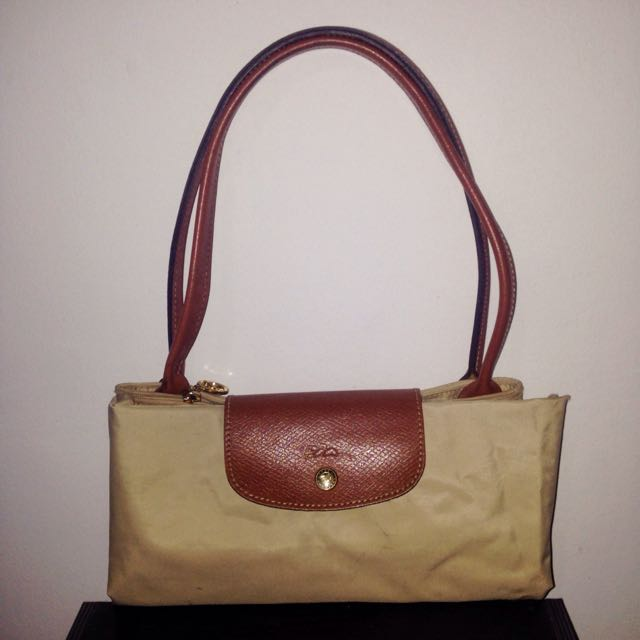 Authentic Large Long Handle Longchamp Le Pliage