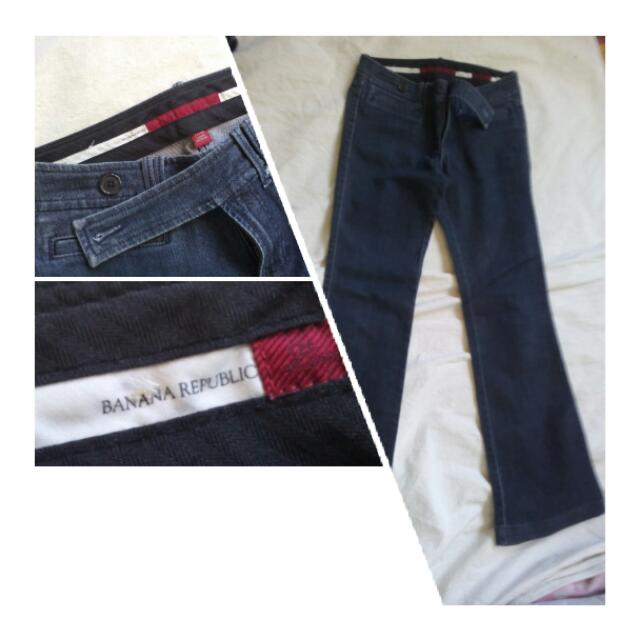 Banana Republic Wide Leg Denim Jeans