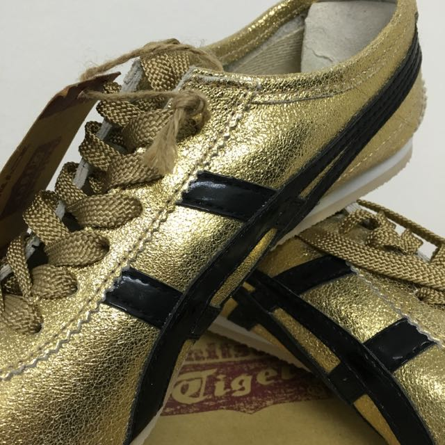 finest selection 15c97 db365 BNIB Onitsuka Tiger Mexico 66 - Gold/Black