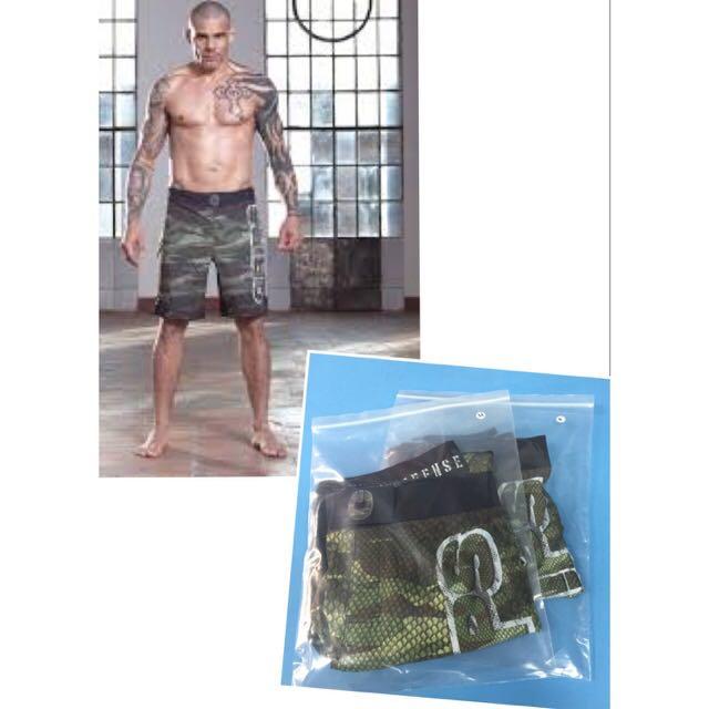 BNIP GRIPS MMA Camo Snake Hybrid Training Shorts