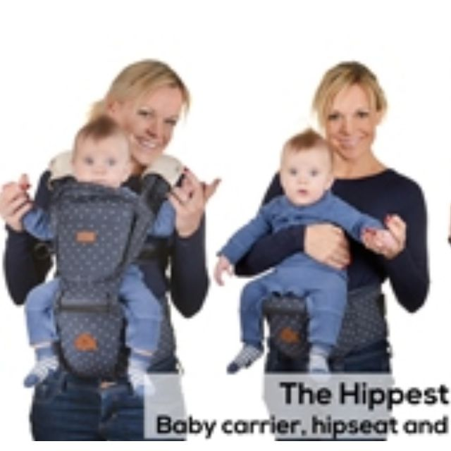 New Denim I Angel Hipseat Baby Carrier Babies Kids On Carousell