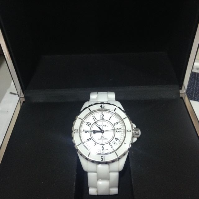 CHANEL J12白陶瓷腕錶