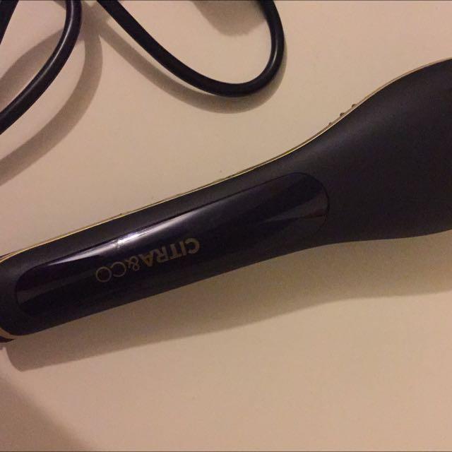 Citra & Co Brush Straightener