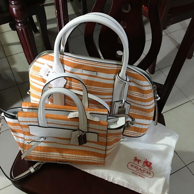 Coach Body Bag And Shoulder Bag