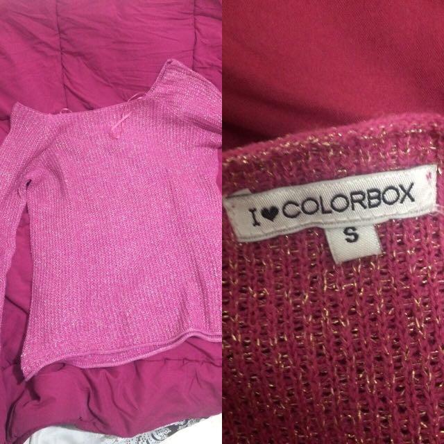 colorbox knitwear sweatshirt