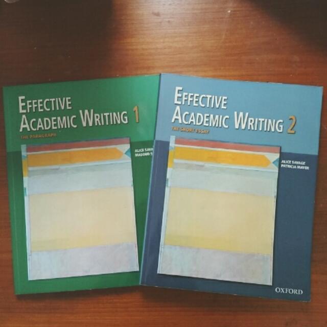 📑課本-Effective ACADEMIC Writing1&2