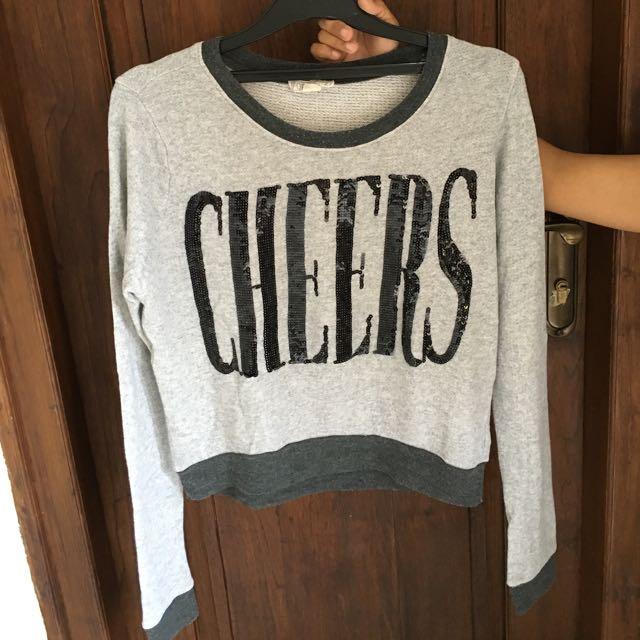 F21 Sequin Sweater