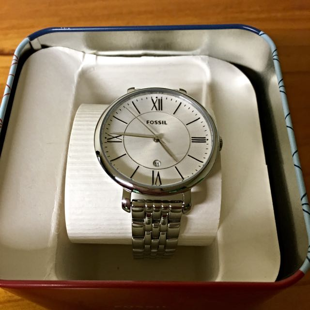 Fossil Women's Silver Watch