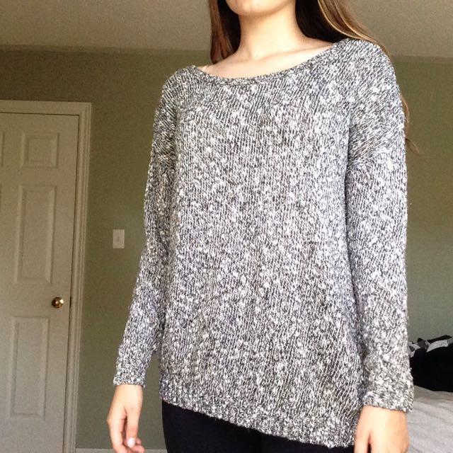 Garage Heather Grey Sweater - Size M-L