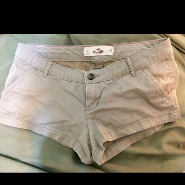Hollister Cargo Shorts Kaki