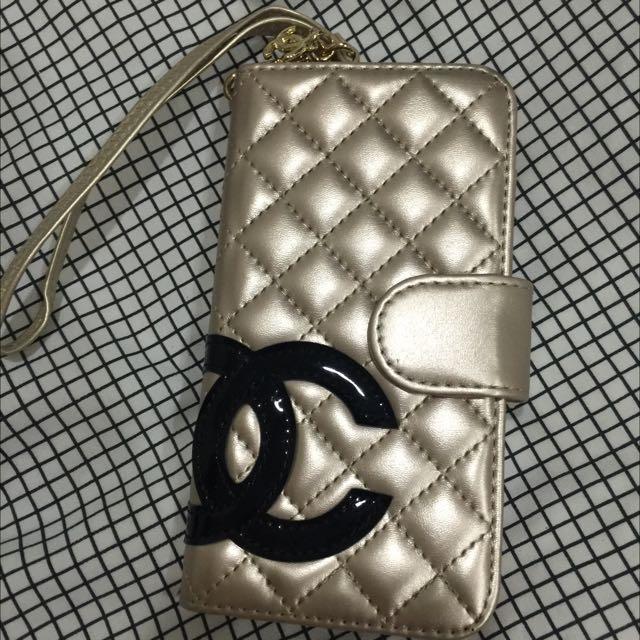 (全新)iPhone6/6s Chanel香奈兒掀蓋式手機殼