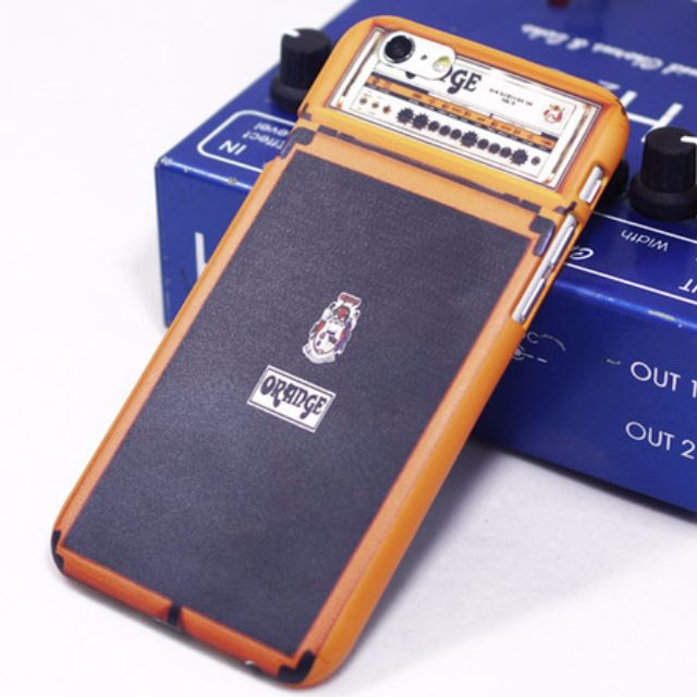 iPhone 6\6s Orange 仿橘子音箱手機硬殼