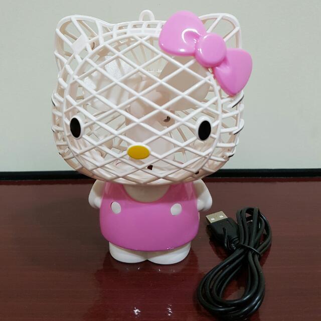 Kitty USB充電式造型風扇