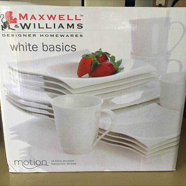 MAXWELL & WILLIAMS DINNER SET