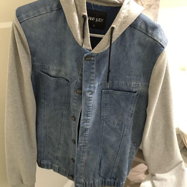 Nana Judy Hooded Denim Jacket