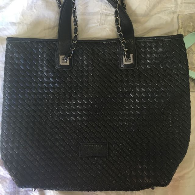 New Black Handbag