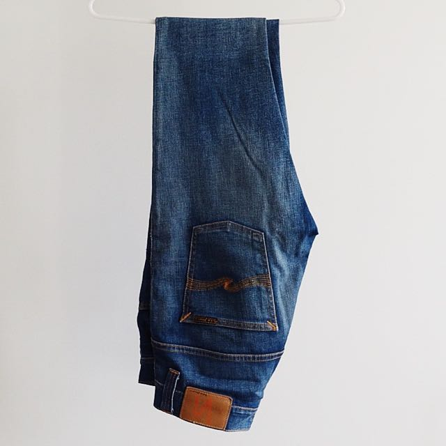 Nudie Jeans Tape Ted Blue