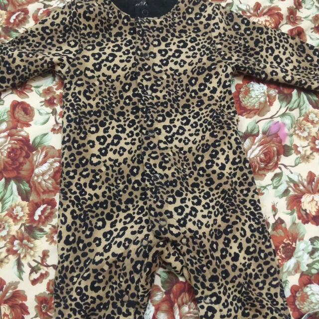 onesies leopard print baby clothes