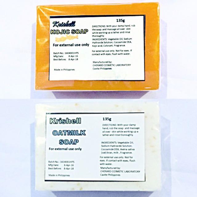 Pair: Kojic Soap & Oatmilk Soap