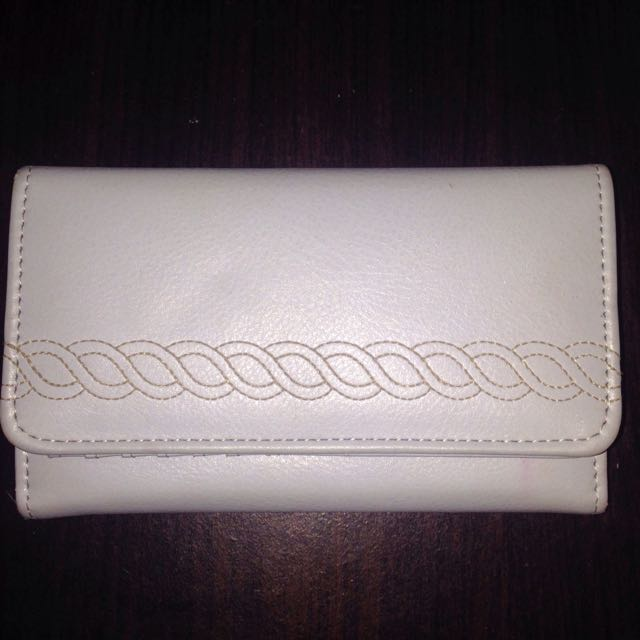 Pale Blue Marks And Spencer Wallet