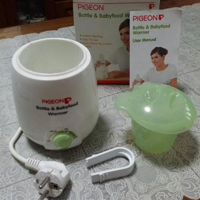 Pigeon Bottle & Babyfood Warmer (Reserved)