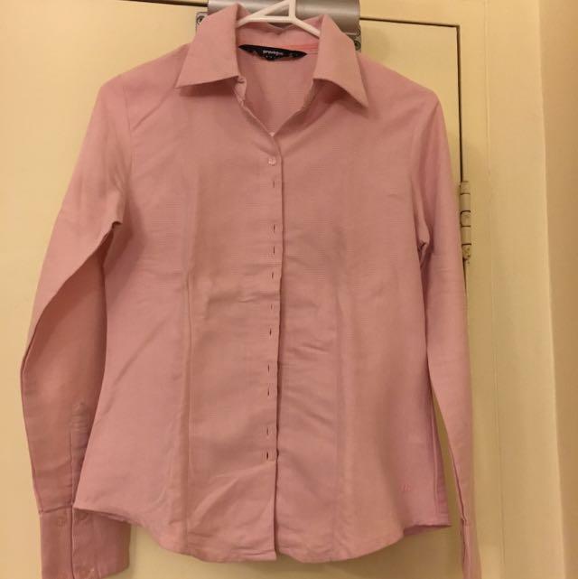 Pink Work Shirt