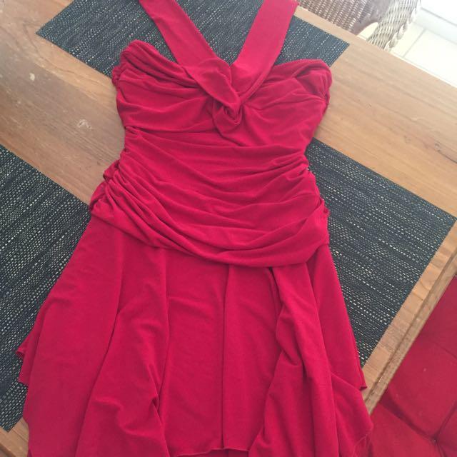 Red Portmans Dress