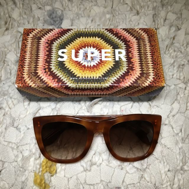"Retrosuperfuture Sunnies ""Gal"" Tortoise Shell"