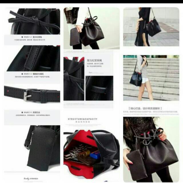 Sling Bag Bucket Bag Tas Selempang