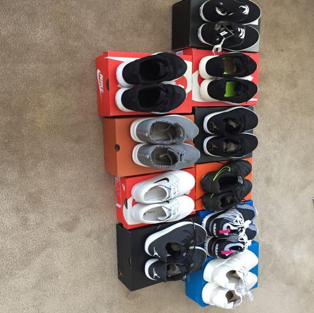 Sneaker Sale Adidas Nike Globe Mossimo