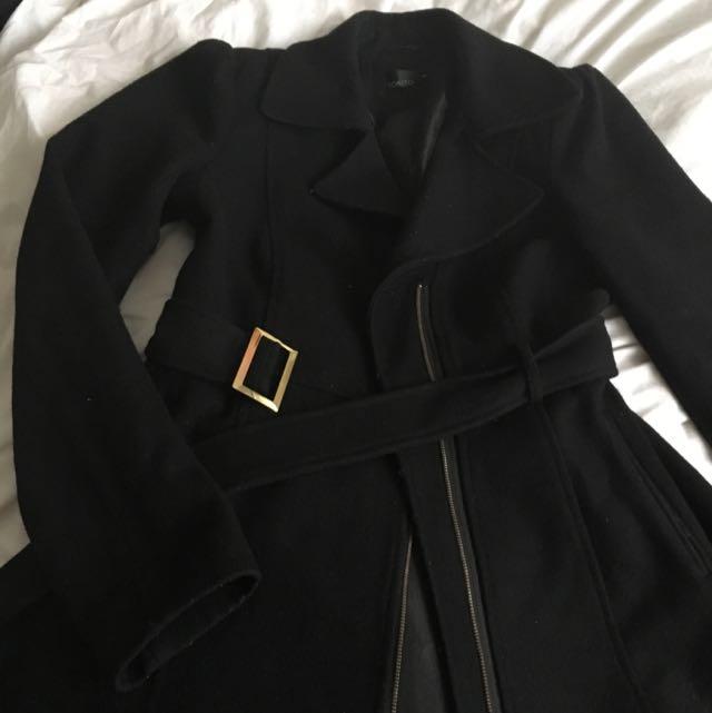 TOKITO Black Skater Coat Size 10