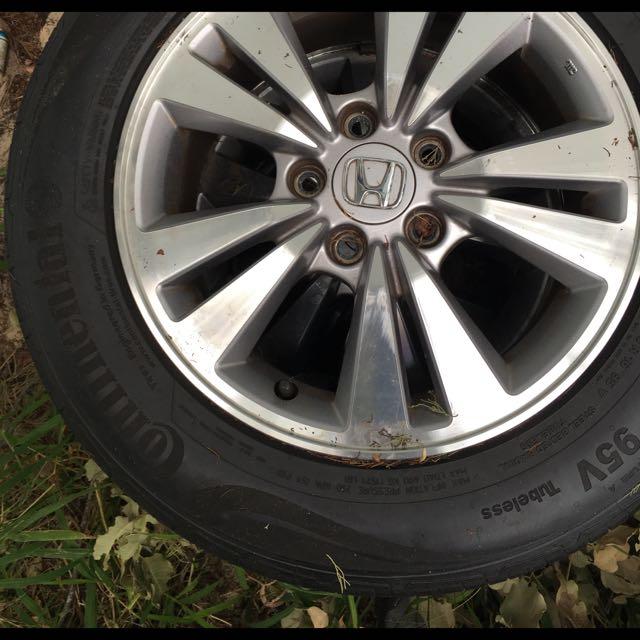 Wheels And Tyres Honda