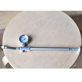Ultracycle High Pressure Mountain Bike Shock Pump 300 PSI Gauge