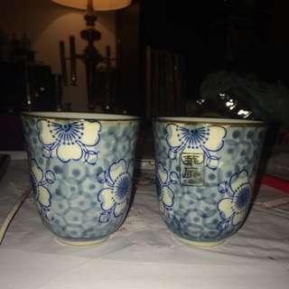 Set Of Specialty Tea Mugs NEW- Stickers Still On