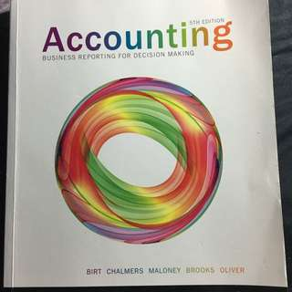 Accounting Business Reporting For Decision Making 5th Edition - Bier Charmers Maloney Brooks Oliver - Wiley