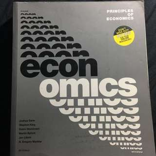 Principles Of Economics 6th Edition (Online Code) - Joshua Gans Stephen King Robin Stonecash Martin Byford Jan Libich N. Gregory Mankiv