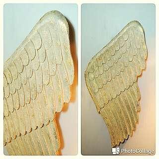 免運費 - 美國 90 年代老件 / 天使的翅膀掛飾收藏品  餐廳/咖啡廳