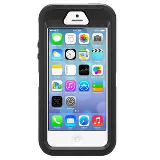 OTTERBOX IPHONE SE / 5S / 5 DEFENDER SERIES BLACK