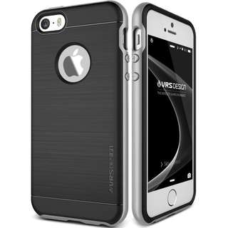 VERUS IPHONE SE / 5S / 5 HIGH PRO SHIELD LIGHT SILVER