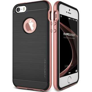 VERUS IPHONE SE / 5S / 5 HIGH PRO SHIELD ROSE GOLD