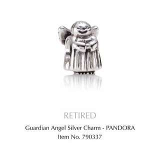 Guardian Angel Silver Charm