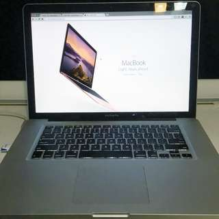 MacBook Pro, 15-inch, Early 2011
